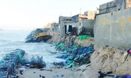 Sénégal - houle - mer