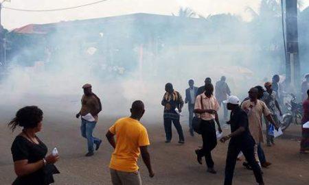 SLECG-manifestation-grève-Conakry