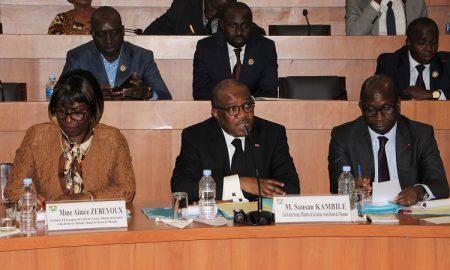Sansan Kambilé - Aimée Zebeyoux - Ministère de la Justice et des Droits de l'Homme - loi - institution