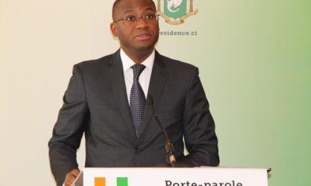Sidi Tiémoko Touré - conseil des ministres - état-civil - porte-paroleSidi Tiémoko Touré - conseil des ministres - état-civil - porte-parole