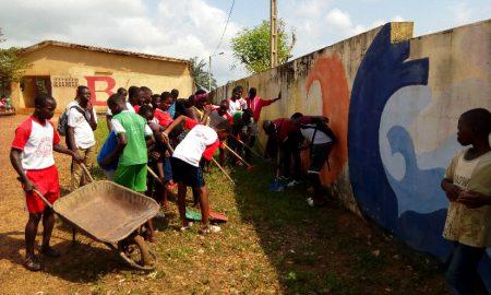 Sikensi-lycée municipal - assainissement - nettoyage