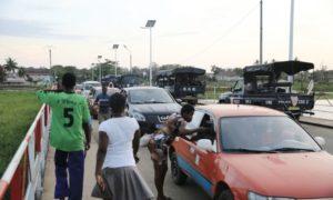 Bassam-Calme-police-CRS-sécurité-élection-bassam-port-bouët