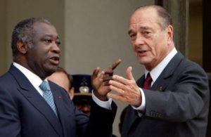 Gbagbo-Chirac-politique
