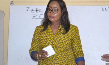 Guibéroua - mairie - Mme Zézé Souassou Nicole Princesse
