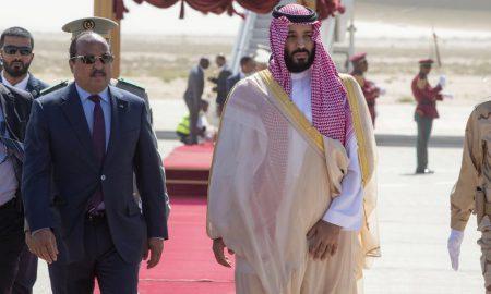 Mohamed Ould Abdel Aziz - Mohammed ben Salman - Mauritanie - Arabie Saoudite
