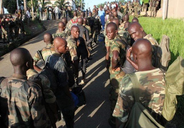 armée-militaire-corridor-Bouaké