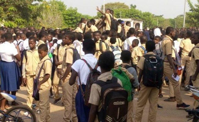 élèves-congés-grève-marche-Dimbokro