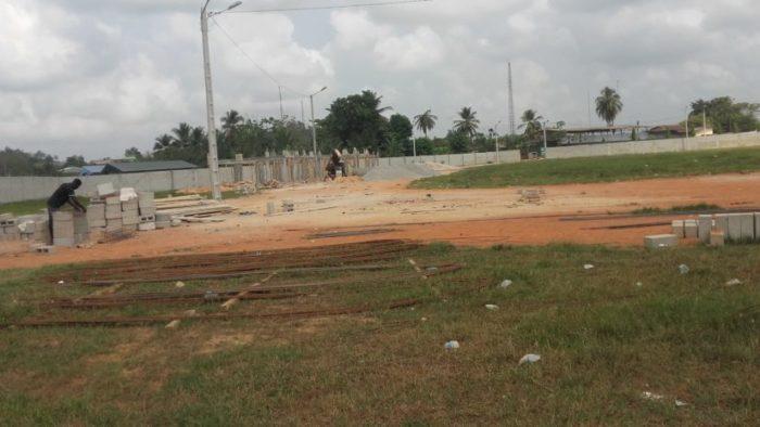 Le stade municipal d'Aboisso en réhabilitation pour devenir
