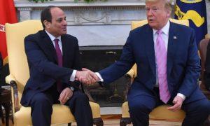 Egypte-USA-Abdelfattah Al-Sissi-Donald-Trump