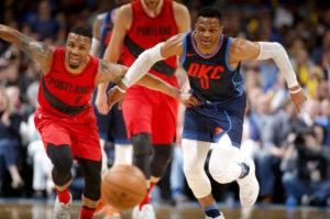 basketball-portland-trail-blazers-oklahoma-city-thunder-nba-damian-lillard-russell-westbrook