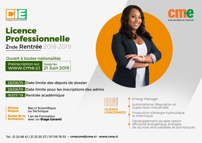 Licence professionnelle CME