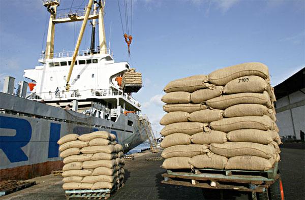economie-port-san-pedro-abidjan-cacao-saf-exportations
