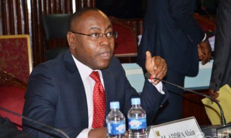 Le secrétaire général de l'Assemblée nationale de Côte d'Ivoire Alain Acapko Addra