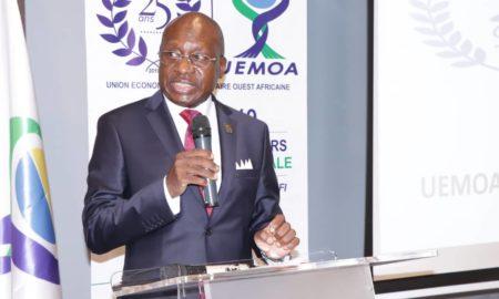 le Représentant résident de la Commission de l'UEMOA en Côte d'Ivoire, Jean Gustave Sanon