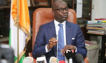Le procureur de la Republique Richard Adou-justice