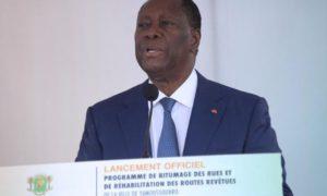 LANCEMENT-TRAVAUX-RESEAU-ROUTIER-YAmoussouKRO-alassane-dramane-ouattara
