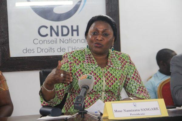 namizata-sangaré-cndhci-droits-politique-société-civile-élection-présidentielle-2020