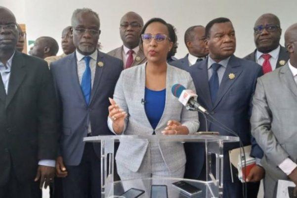 assemblée-de-côte-d'ivoire-yasmina-ouegnin-opposition-politique