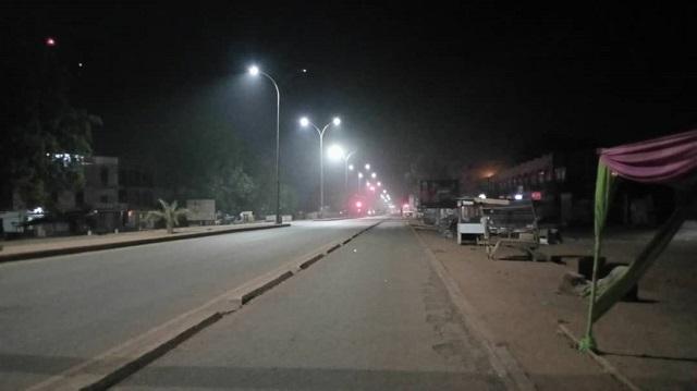 Burkina allègement du couvre-feu