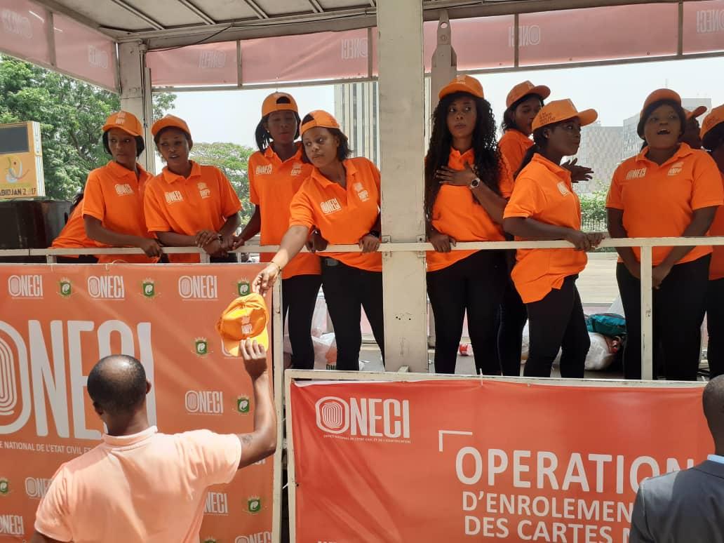 l'Oneci prévoit distribuer près de 6 millions de CNI d'ici à octobre