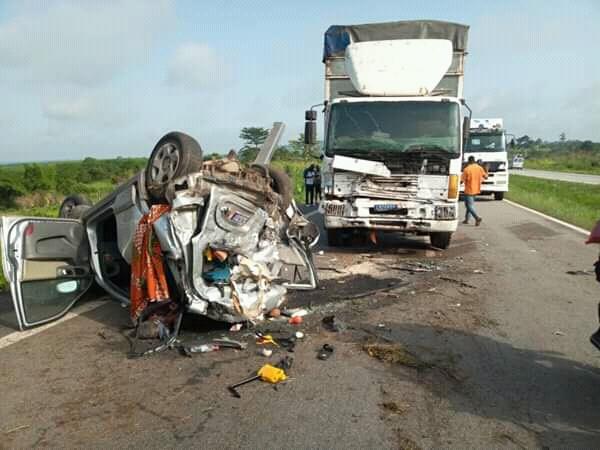 un accident de la circulation fait trois morts sur l'autoroute du Nord