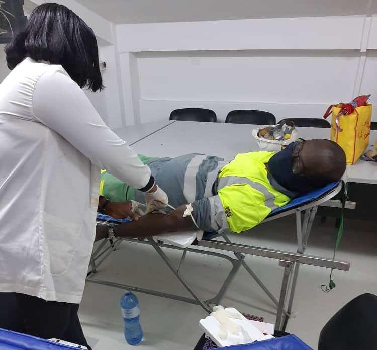 LafargeHolcim Côte d'Ivoire organise une collecte de sang pour soutenir le CNTS