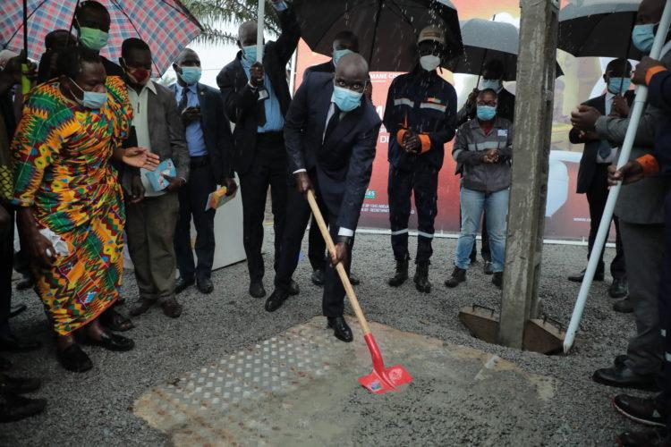 lancement des travaux de la 2ème phase d'extension du réseau électrique d'Adjahui-Coubé