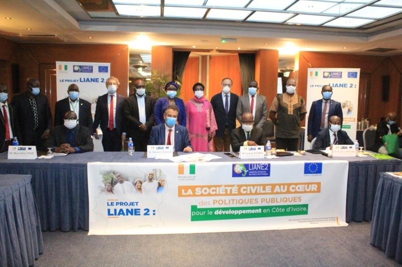 lancement d'un programme de 1,2 milliard FCFA pour financer la société civile