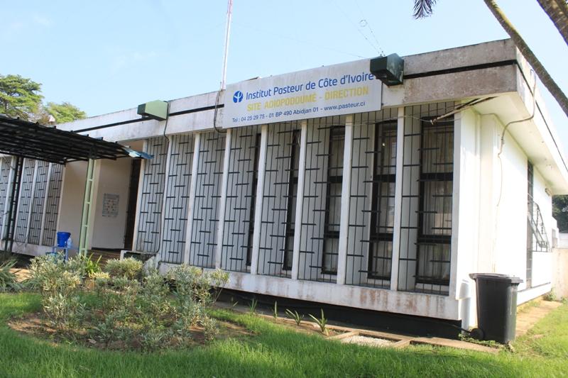 rénovation d'un laboratoire de l'Institut Pasteur d'Abidjan