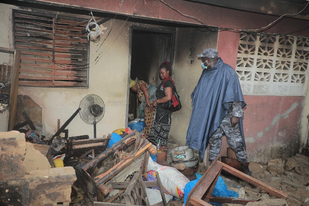 L'explosion d'un dépôt de gaz à Abidjan cause d'énormes dégâts et fait deux blessés graves