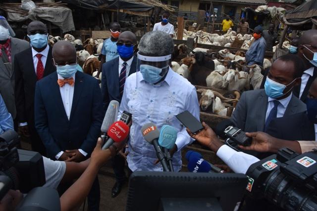 Lancement à Abidjan de la Foire de la Tabaski 2020