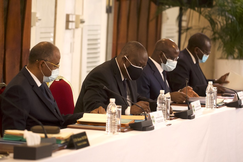 fin de l'isolement du Grand Abidjan à partir de mercredi prochain