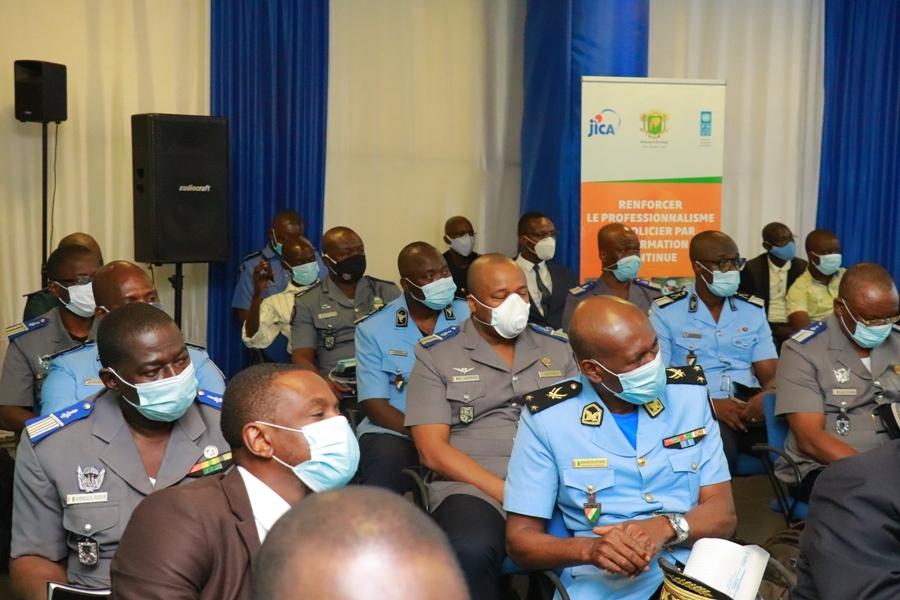 policiers et gendarmes formés pour une meilleure sécurisation du processus électoral
