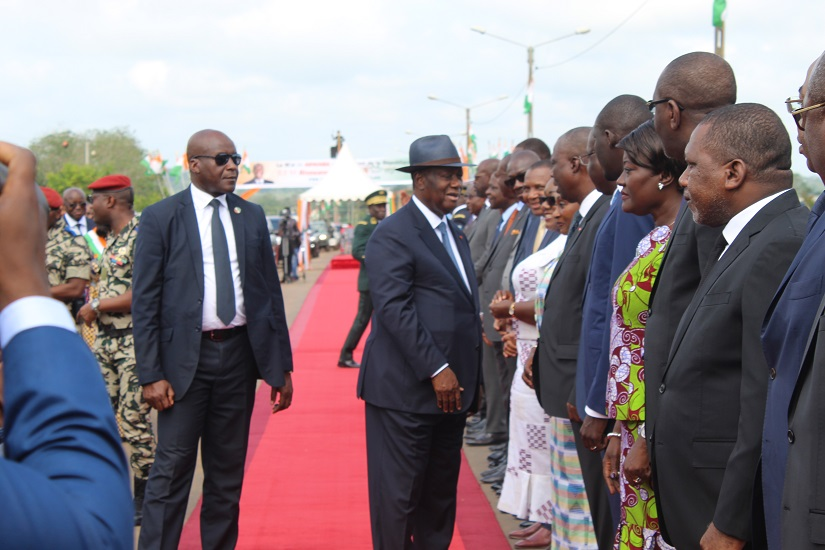 Alassane Ouattara en visite d'Etat dans la région du Moronou du 09 au 12 septembre