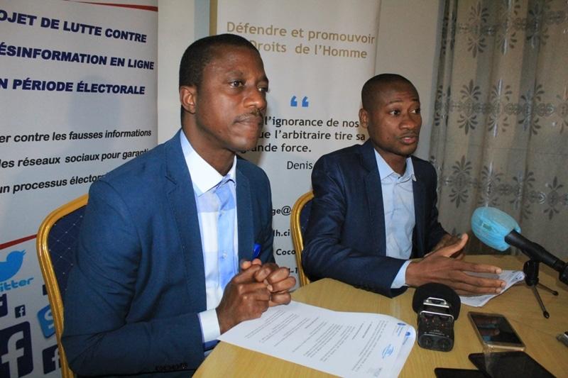 Les acteurs politiques ivoiriens appelés à éviter de diffuser via internet les fake news sur le processus électoral