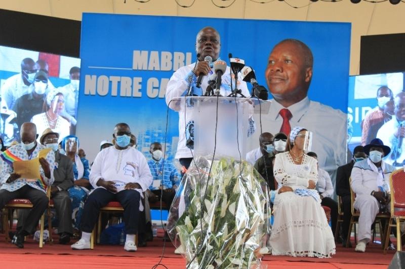 investi par l'Udpci, son parti, Mabri dépose sa candidature lundi