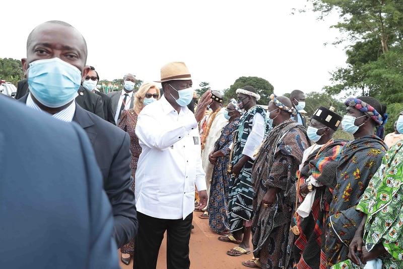 Alassane Ouattara invite ses compatriotes à cultiver la «tolérance et la paix» en Côte d'Ivoire