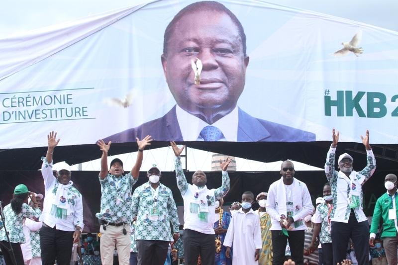 Bédié promet «remporter» la présidentielle avec l'opposition