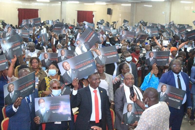 Guillaume Soro investit en son absence candidat à la présidentielle ivoirienne