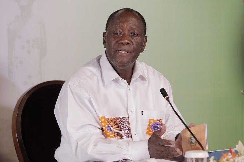 Ouattara promet la vigilance et la fermeté face aux fake news