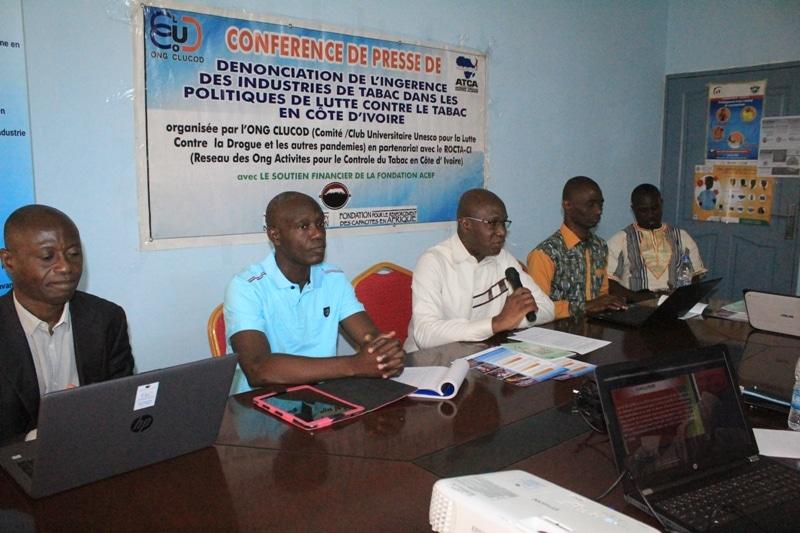 Tabac une ONG ivoirienne appelle au relèvement des droits d'accise de 45% à 50%