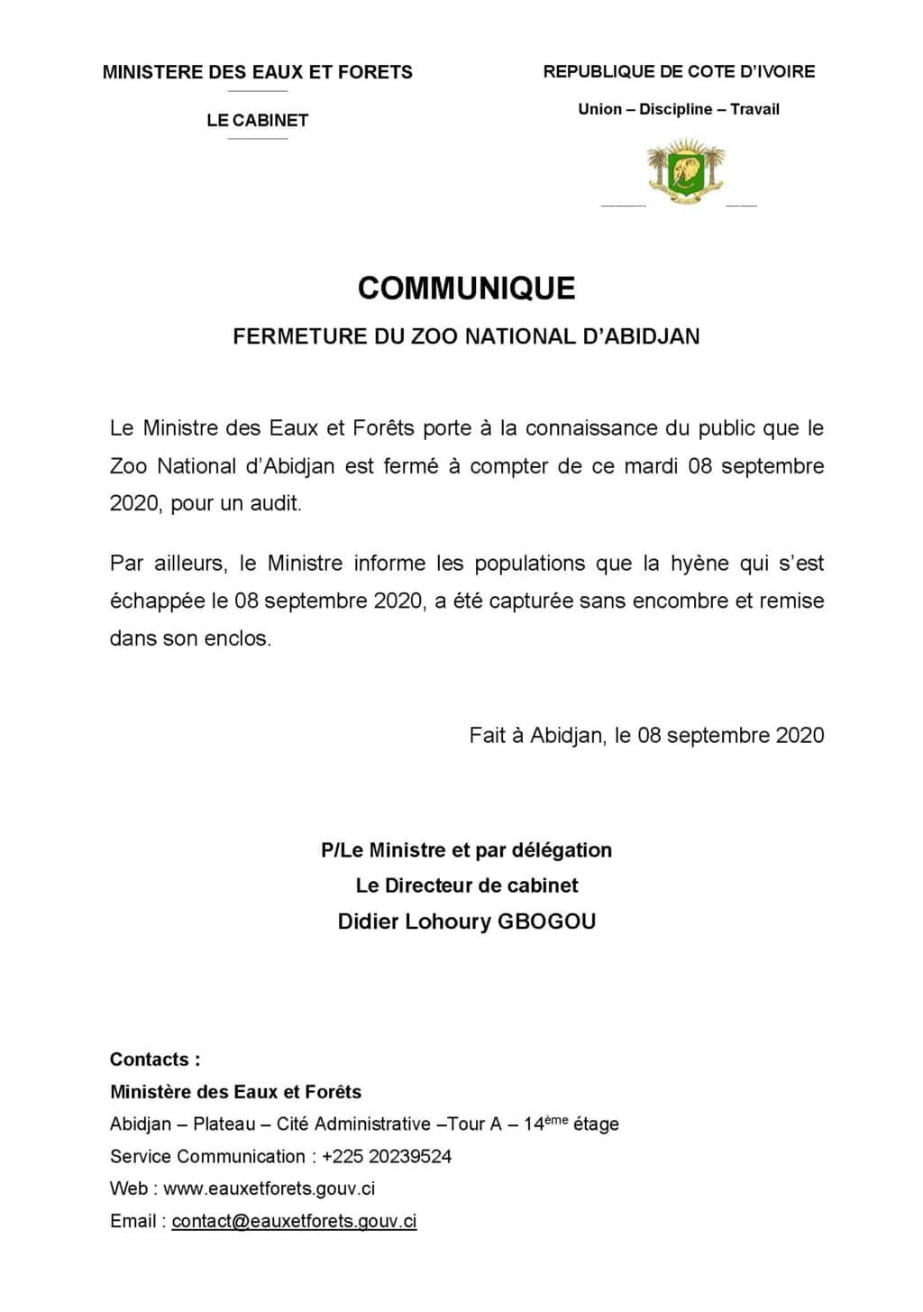 communique_fermeture_zoo