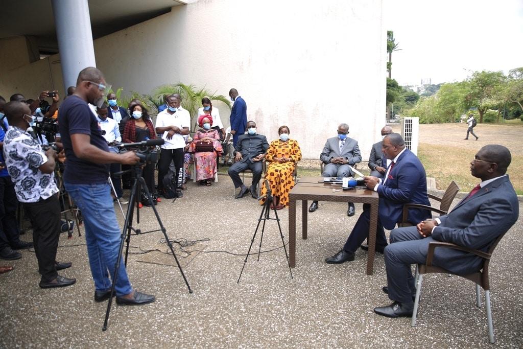 la position du Cardinal Kutwa ne va « pas dans le sens de l'apaisement » (Adjoumani)