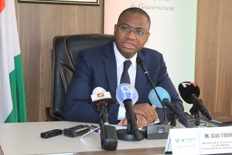 le Gouvernement ivoirien invite les candidats retenus ou non à promouvoir la paix