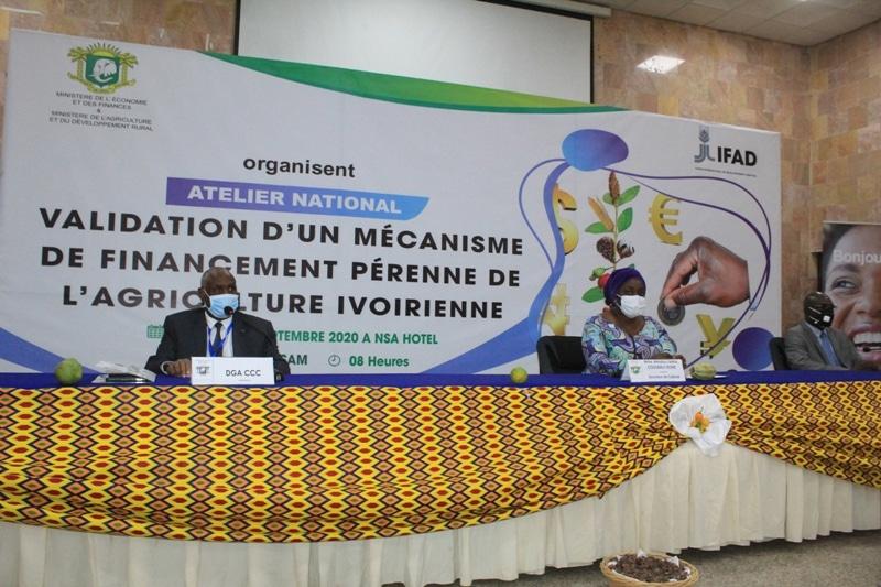 réflexion sur un mécanisme de financement pérenne du secteur agricole