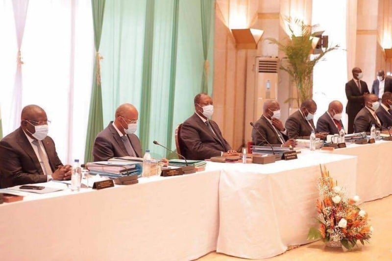 Communiqué du Conseil des Ministres du mercredi 30 septembre 2020