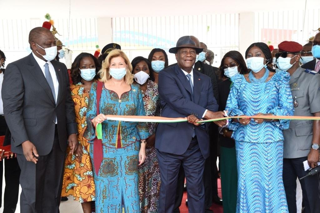 Inauguration du Groupe scolaire d'excellence de la Fondation Children Of Africa d'Abobo
