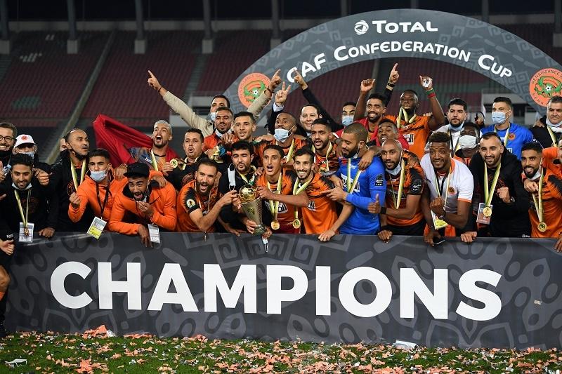 La Renaissance de Berkane championne de la coupe de la CAF
