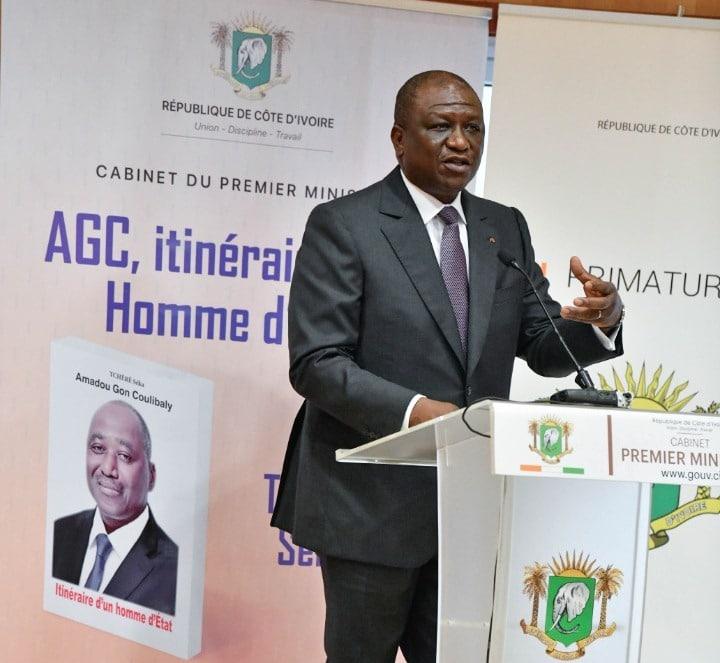 Présentation à Abidjan d'un livre pour promouvoir les qualités de feu Amadou Gon Coulibaly