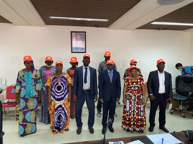Un appui financier à la confédération des victimes des crises ivoiriennes pour sensibiliser à une élection apaisée
